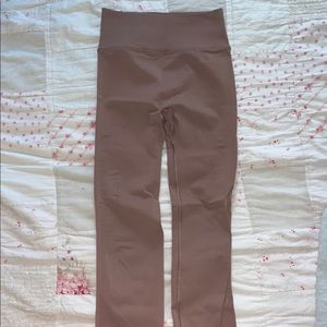 lululemon pink free to be nulu leggings